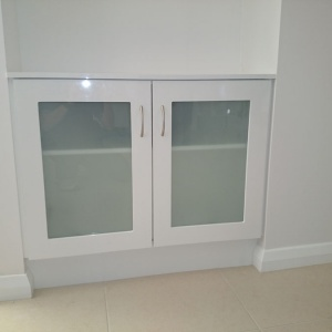 Custom – Doors with Glass Inserts